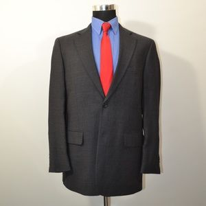Pronto Uomo 40L Sport Coat Blazer Suit Jacket Gray